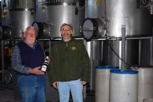 Mr. Naylor and Me in the Pressing Room