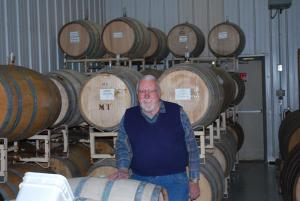 Mr. Naylor in the Fermenting Room