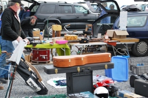 Musical Instruments at the Flea Market